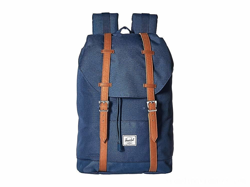 Herschel Supply Co. Retreat Mid-Volume Navy/Tan Synthetic Leather - Black Friday 2020