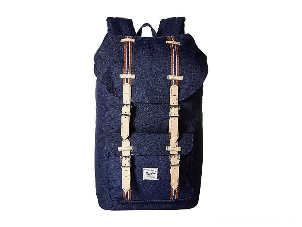 Herschel Supply Co. Little America Medieval Blue Crosshatch/Medieval Blue - Black Friday 2020