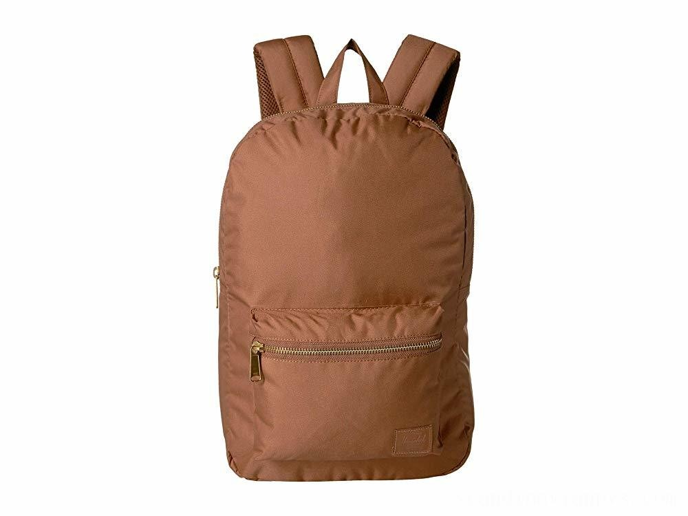 Herschel Supply Co. Settlement Mid-Volume Light Saddle Brown - Black Friday 2020
