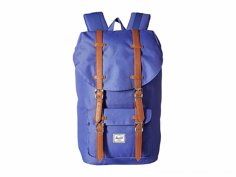 Herschel Supply Co. Little America Deep Ultramarine/Tan Synthetic Leather - Black Friday 2020