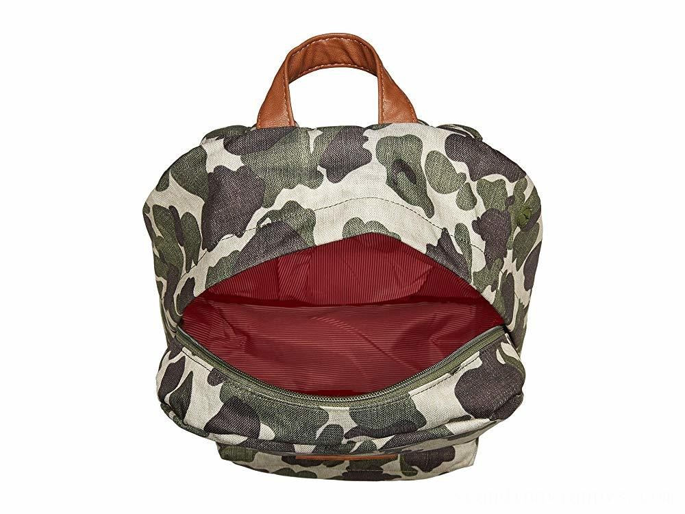 Herschel Supply Co. Heritage Frog Camo/Tan Synthetic Leather