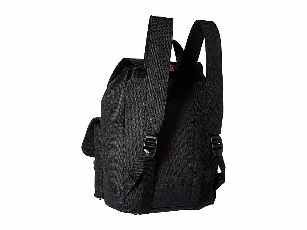 Herschel Supply Co. Dawson X-Small Black/Tan Synthetic Leather - Black Friday 2020