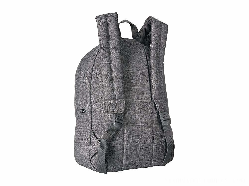 Herschel Supply Co. Classic Raven Crosshatch
