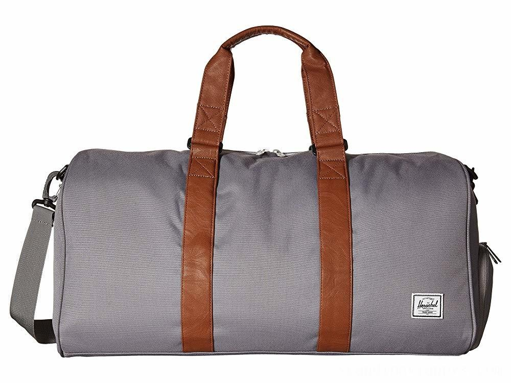 Herschel Supply Co. Novel Mid-Volume Grey/Tan Synthetic Leather