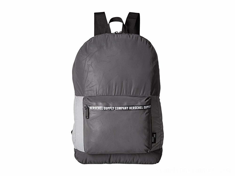 Herschel Supply Co. Packable Daypack Black Reflective/Silver Reflective - Black Friday 2020
