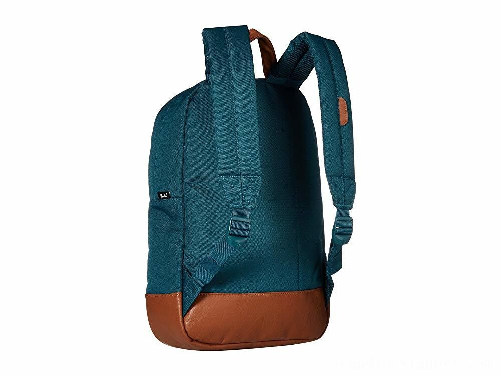 Herschel Supply Co. Heritage Mid-Volume Deep Teal/Tan Synthetic Leather