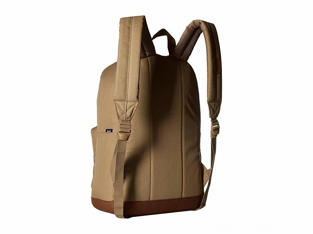 Herschel Supply Co. Pop Quiz Kelp/Saddle Brown