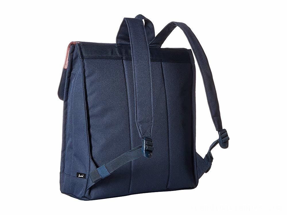 Herschel Supply Co. City Mid-Volume Navy/Tan Synthetic Leather