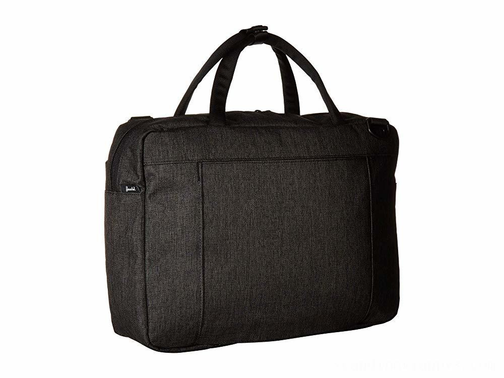 Herschel Supply Co. Gibson Black Crosshatch