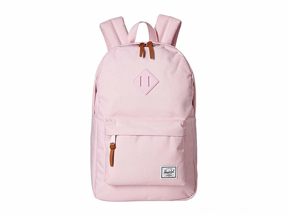 Herschel Supply Co. Heritage Mid-Volume Pink Lady Crosshatch