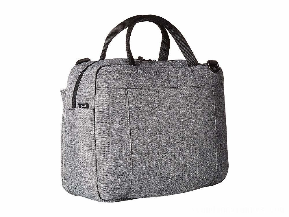 Herschel Supply Co. Gibson Raven Crosshatch 1