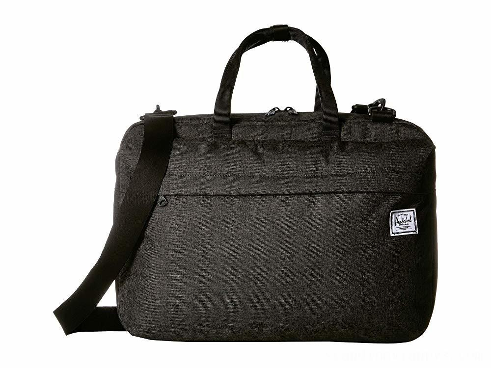 Herschel Supply Co. Sandford Black Crosshatch