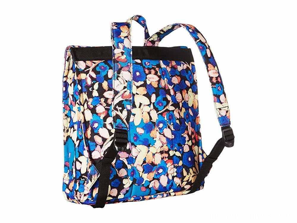 Herschel Supply Co. City Mid-Volume Painted Floral/Tan Synthetic Leather