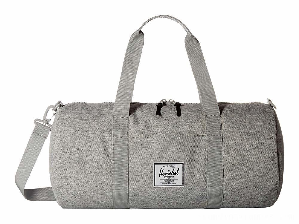 Herschel Supply Co. Sutton Mid-Volume Light Grey Crosshatch
