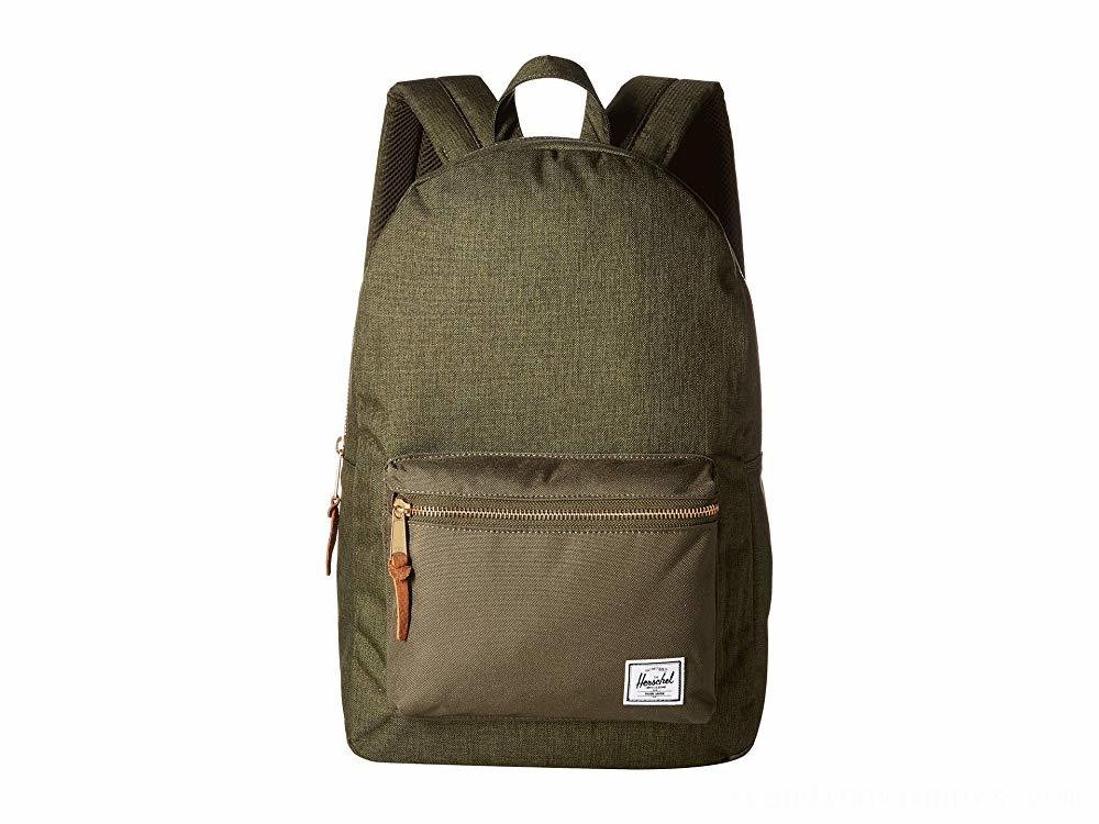 Herschel Supply Co. Settlement Olive Night Crosshatch/Olive Night