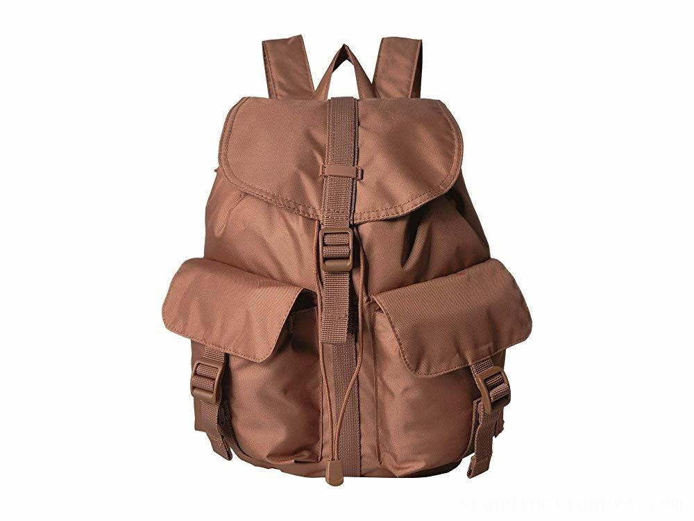 Herschel Supply Co. Dawson Small Light Saddle Brown