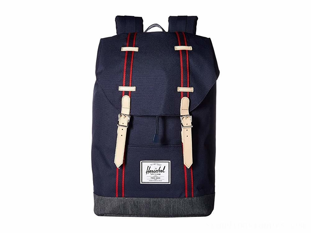 Herschel Supply Co. Retreat Peacoat/Dark Denim