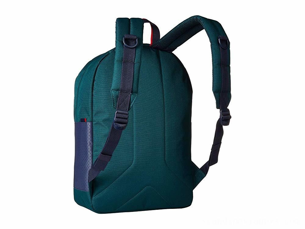 Herschel Supply Co. Ruskin Deep Teal/Peacoat/Barbados Cherry