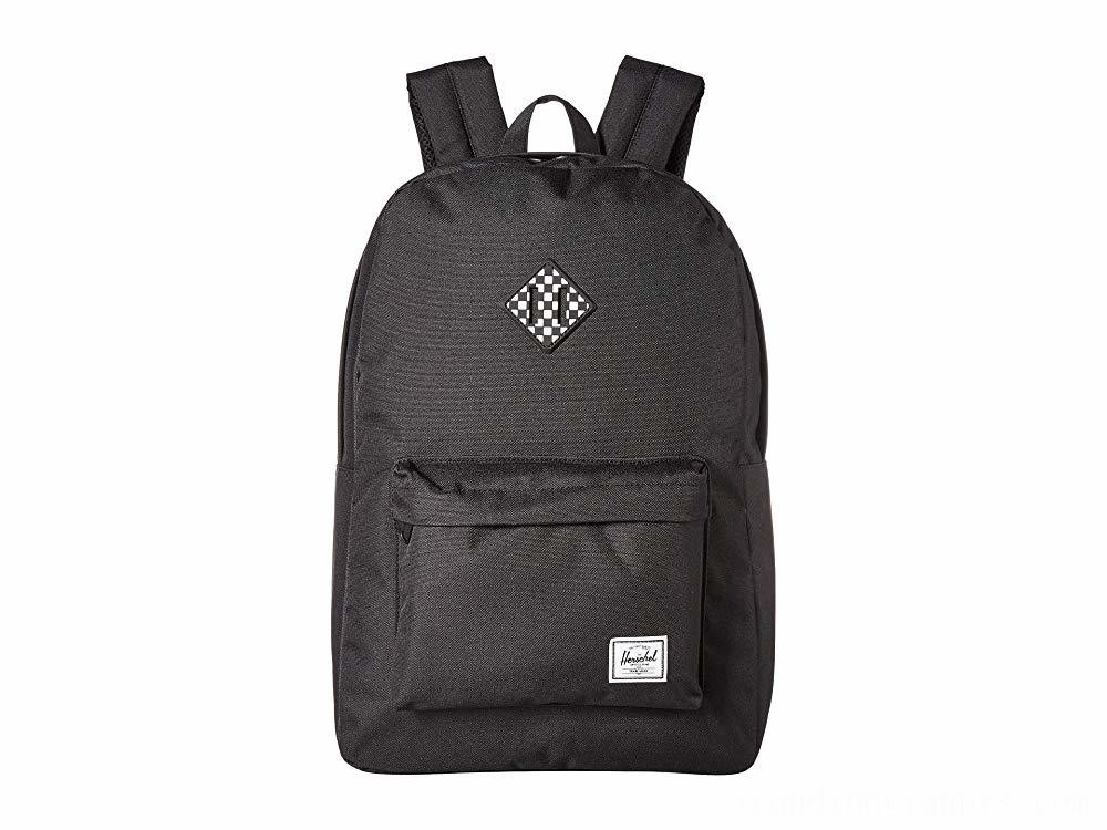 Herschel Supply Co. Heritage Black/Checkerboard