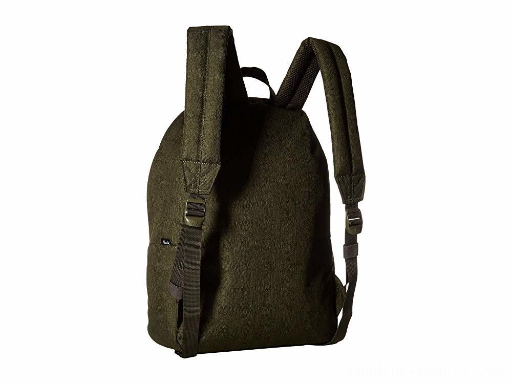 Herschel Supply Co. Classic Olive Night Crosshatch/Olive Night