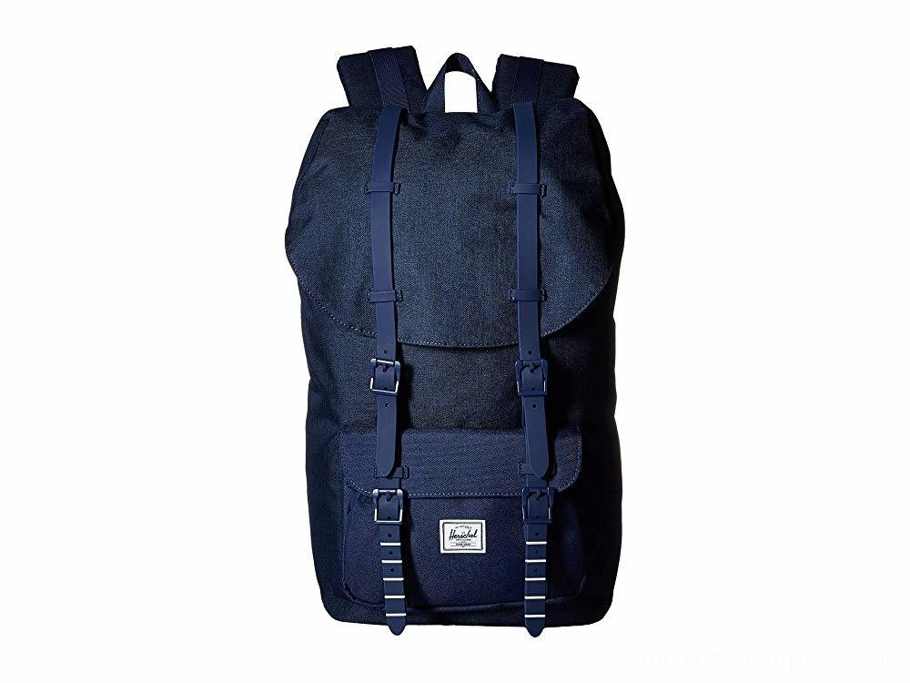 Herschel Supply Co. Little America Medieval Blue Crosshatch/Medieval Blue 1 - Black Friday 2020