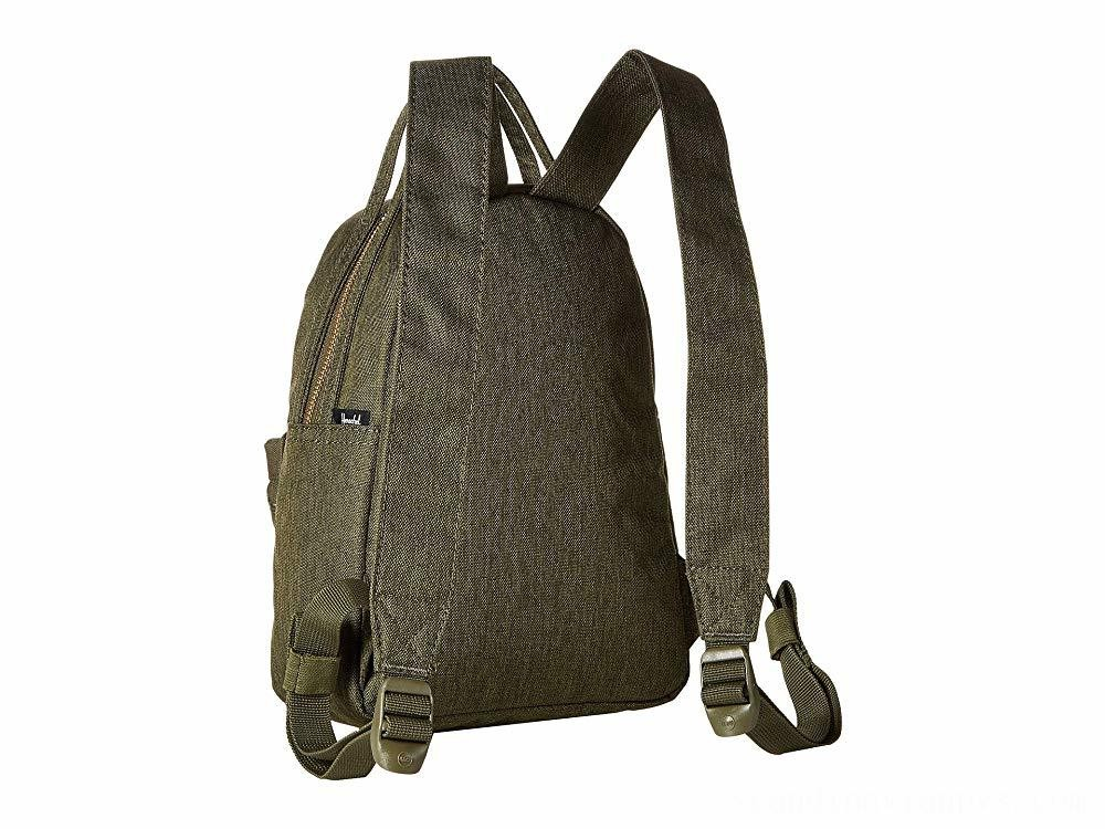 Herschel Supply Co. Nova Mini Olive Night Crosshatch/Olive Night