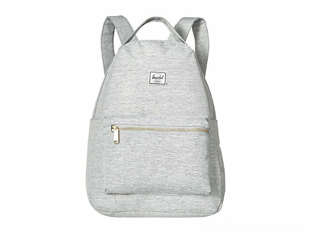 Herschel Supply Co. Nova Mid-Volume Light Grey Crosshatch