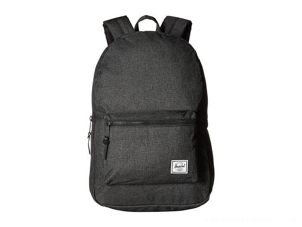 Herschel Supply Co. Settlement Black Crosshatch - Black Friday 2020