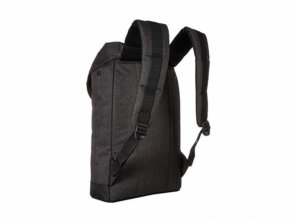 Herschel Supply Co. Retreat Mid-Volume Black Crosshatch/Black