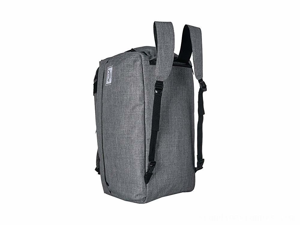 Herschel Supply Co. Outfitter Luggage 50 L Raven Crosshatch - Black Friday 2020