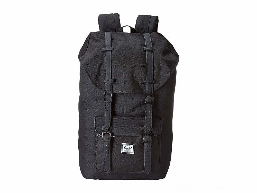 Herschel Supply Co. Little America Black/Black - Black Friday 2020