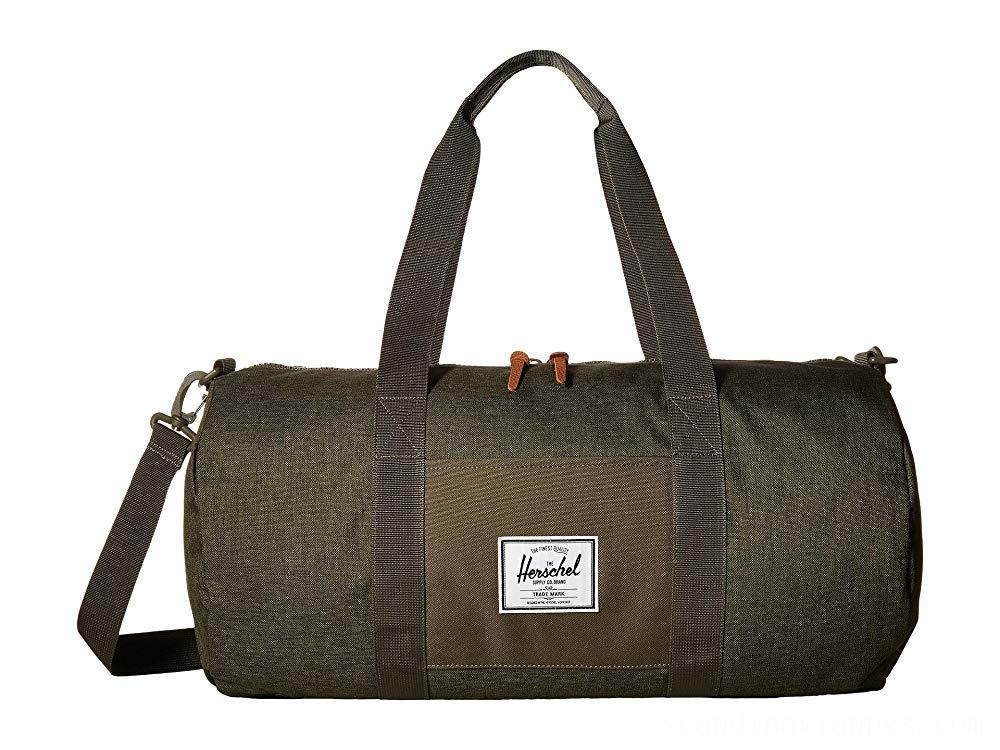 Herschel Supply Co. Sutton Mid-Volume Olive Night Crosshatch/Olive Night