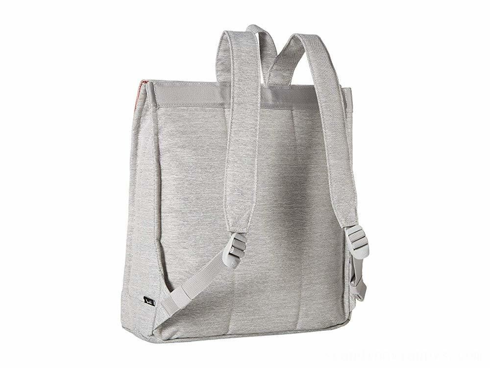 Herschel Supply Co. City Mid-Volume Light Grey Crosshatch/Grey Rubber - Black Friday 2020
