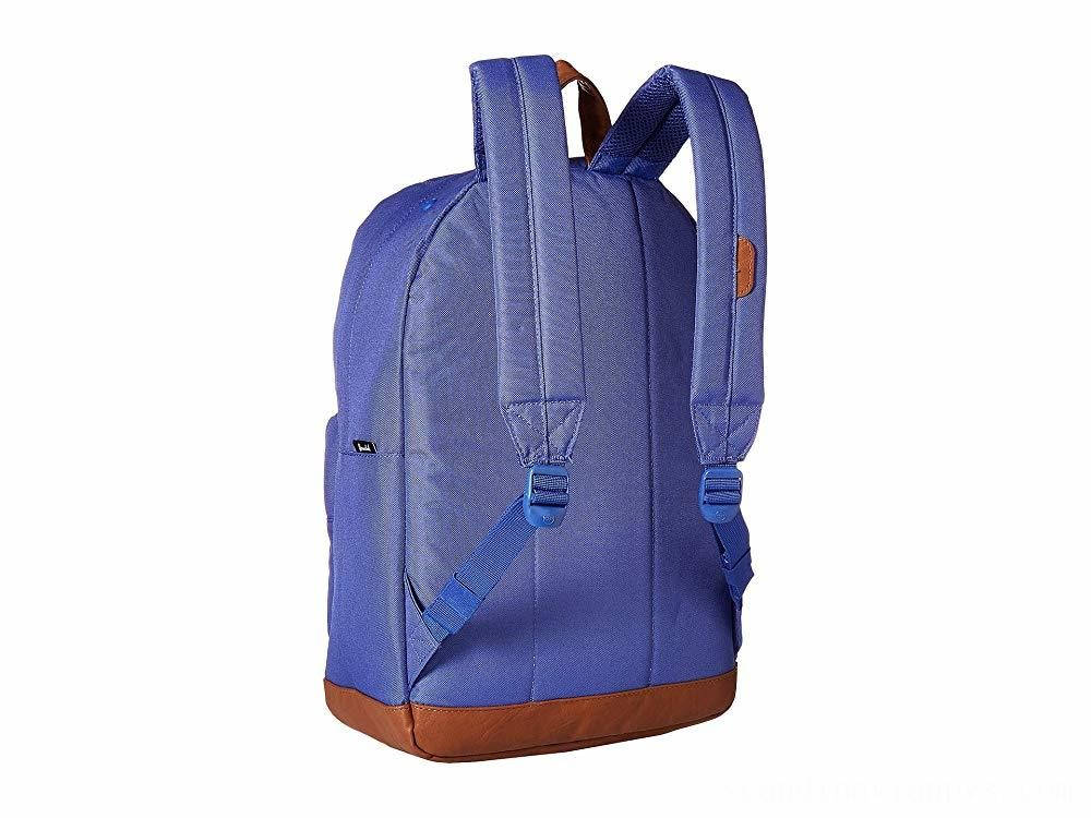 Herschel Supply Co. Pop Quiz Deep Ultramarine/Tan Synthetic Leather - Black Friday 2020