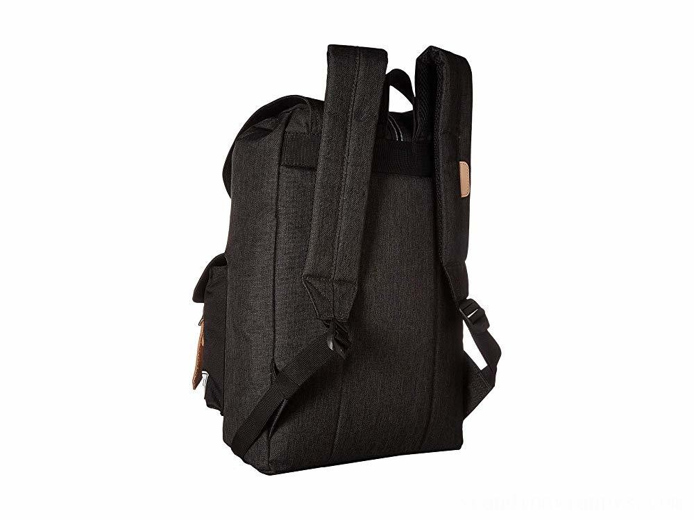 Herschel Supply Co. Dawson Backpack Black Crosshatch/Black