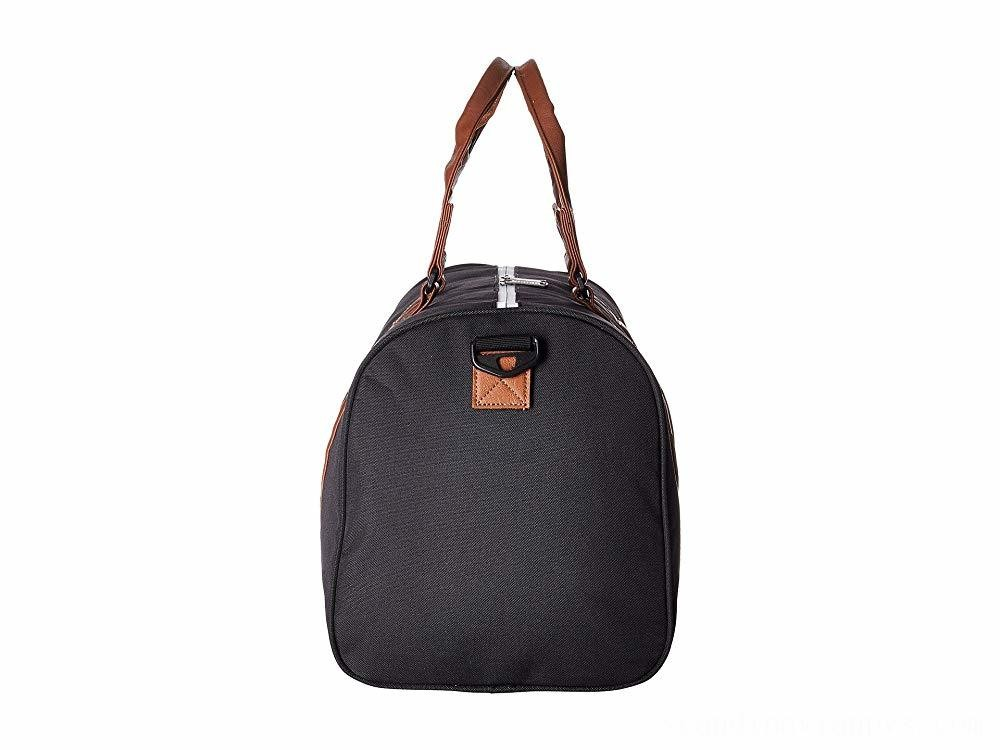 Herschel Supply Co. Novel Mid-Volume Black/Tan Synthetic Leather